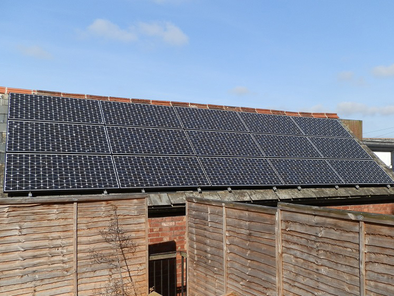 Exmouth Solar Installation: Grapvine Restaurant, Devon