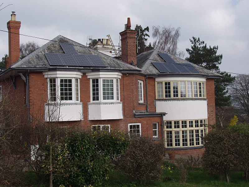 Domestic Solar Installation: Ottery St Mary, Devon