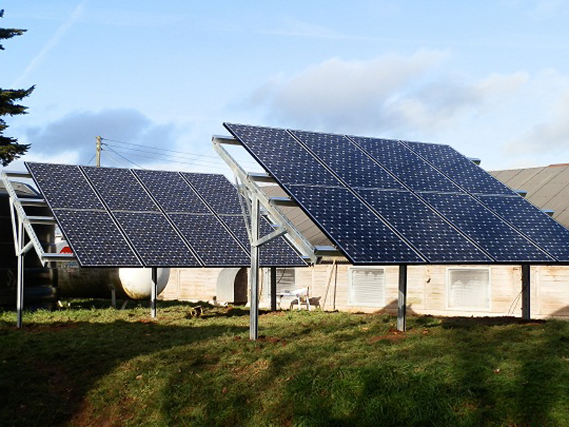 Woodbury Farm Solar Installation, Devon