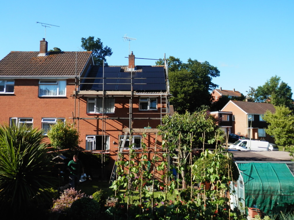 Solar Panel Installation: Winchester Avenue, Exeter, Devon