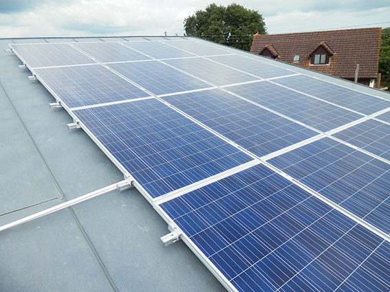 Solar Panel Installation: The Bridge, Talaton, Devon